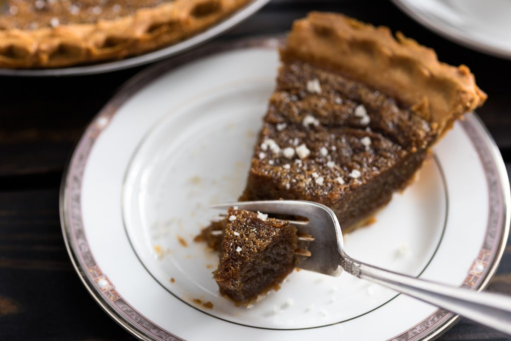 Cardamom Salted Caramel Pie