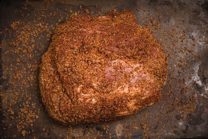 Korean Rubbed Pork Shoulder