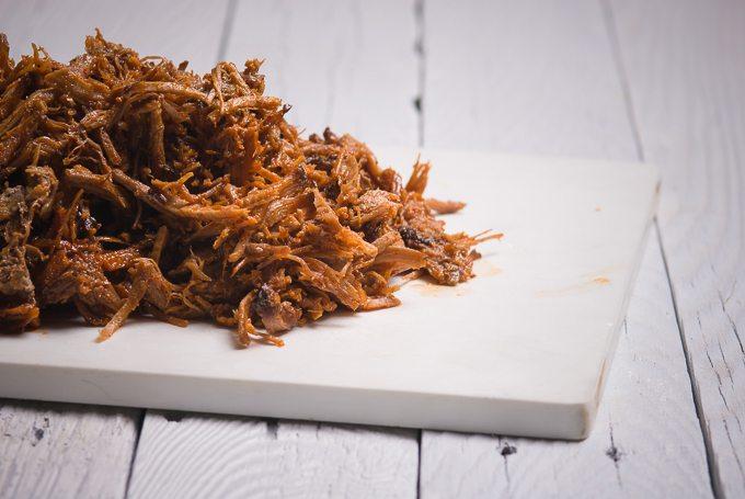 Korean Pulled Pork Taco Meat