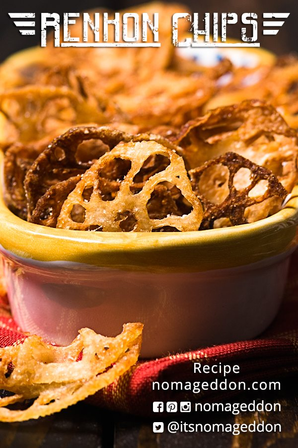 how to cook frozen lotus root chips