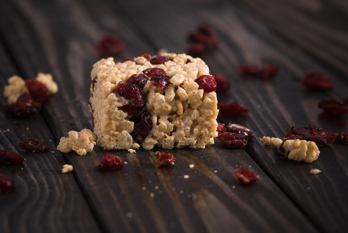 Cranberry Rice Krispie Treats