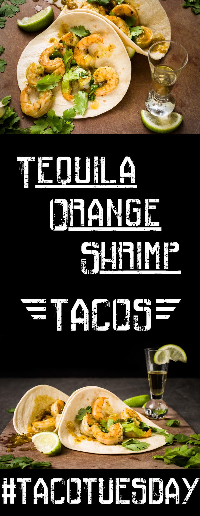 Tequila Orange Shrimp Tacos