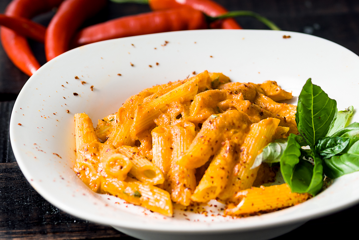 Penne Alla Pepper Vodka