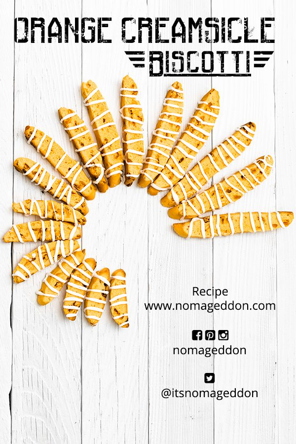 Orange Creamsicle Biscotti
