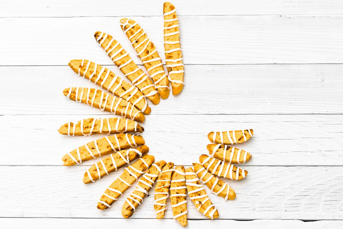 Creamsicle Biscotti