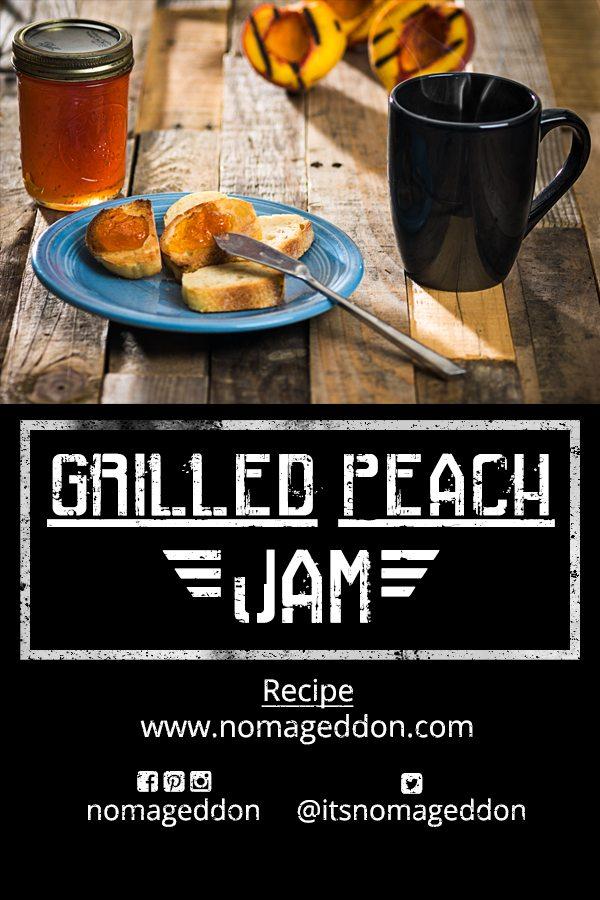 Grilled Peach Jam