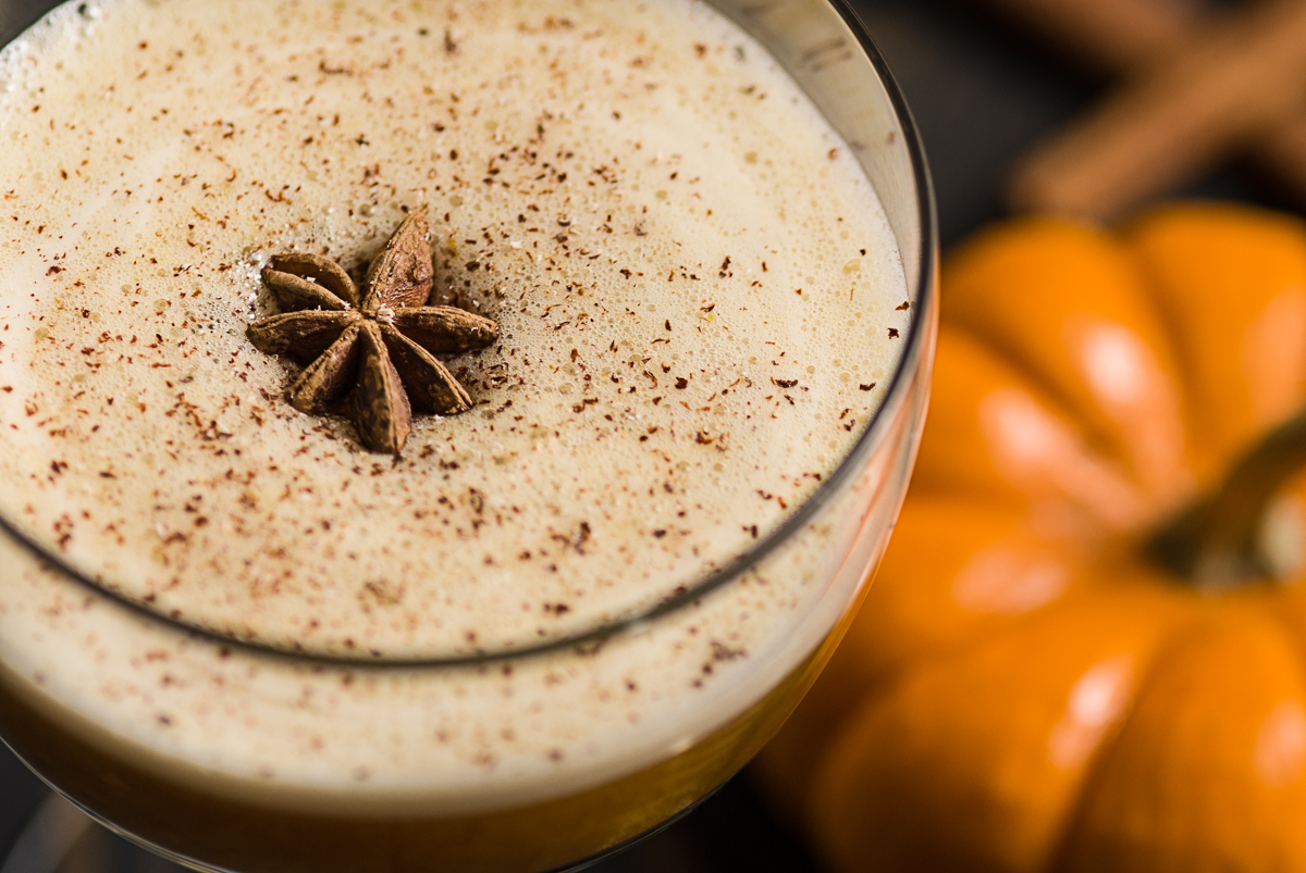 The Pumpkin Spice Daiquiri.  Way better than the Pumpkin Spice Latte.  Make it for your next Halloween Party!