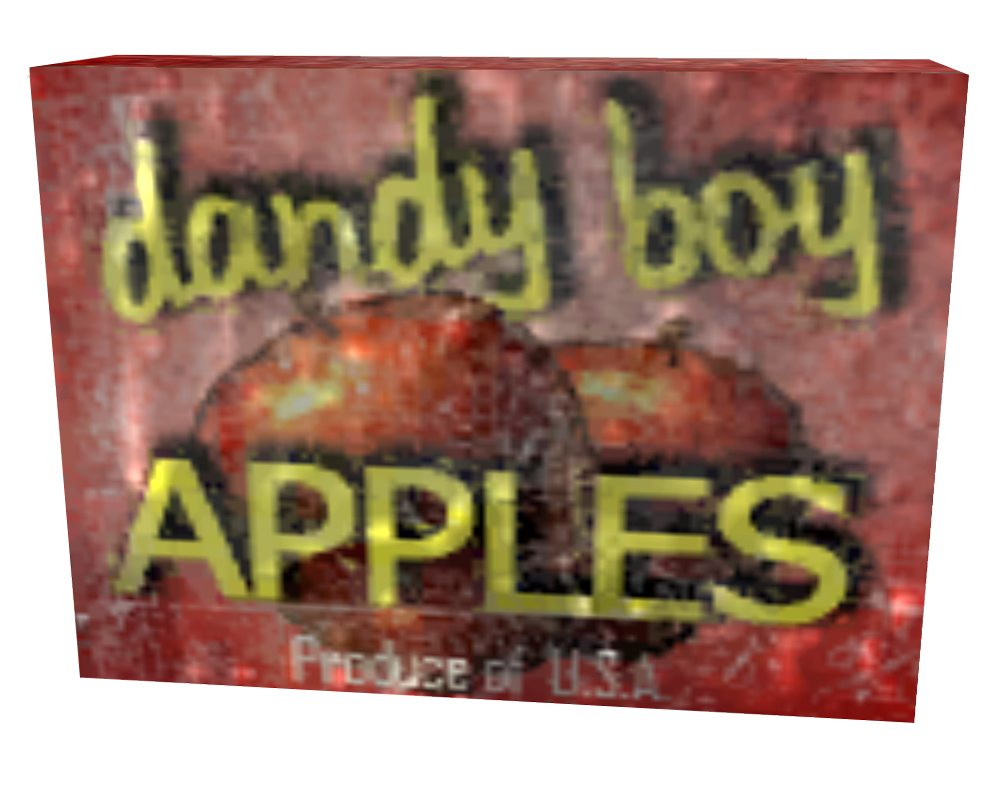 Fallout 3 Dandy Boy Apples