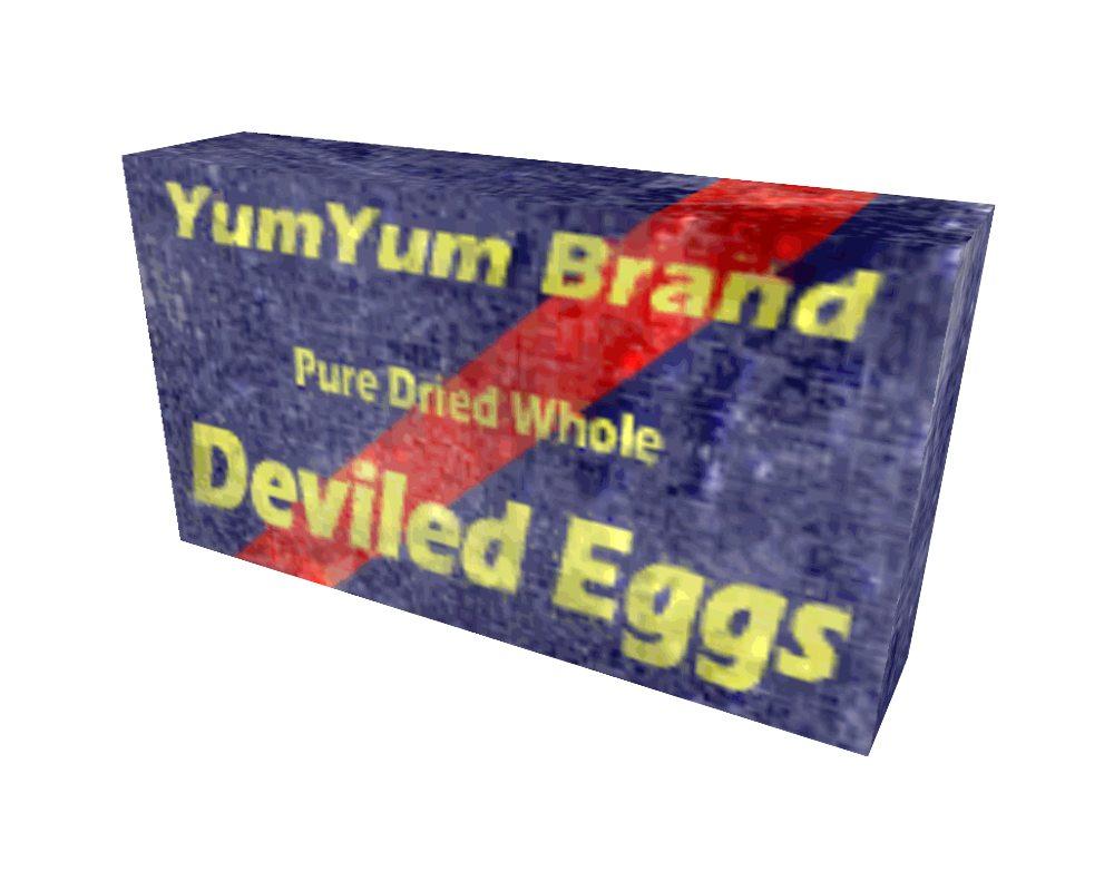 Fallout 3 Yum Yum Deviled Eggs