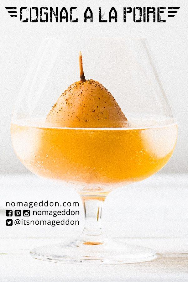 Cognac A La Poire Pin