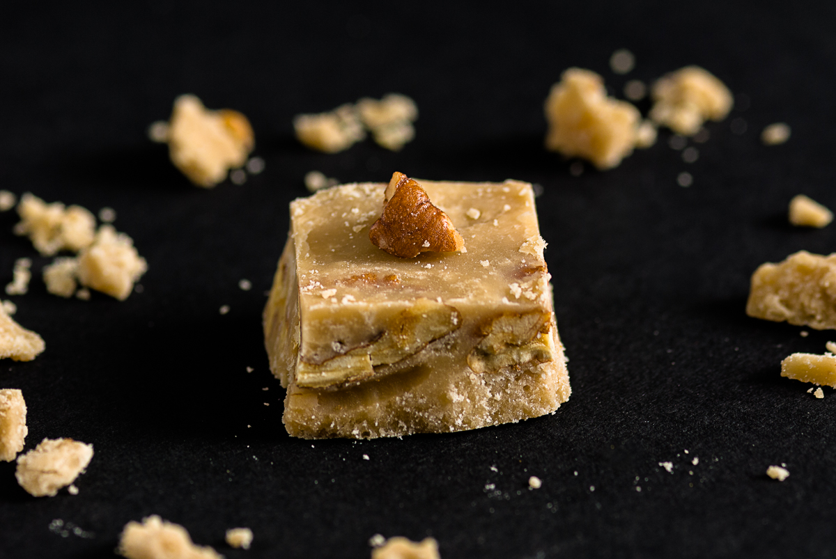 Butter Pecan Brandy Fudge