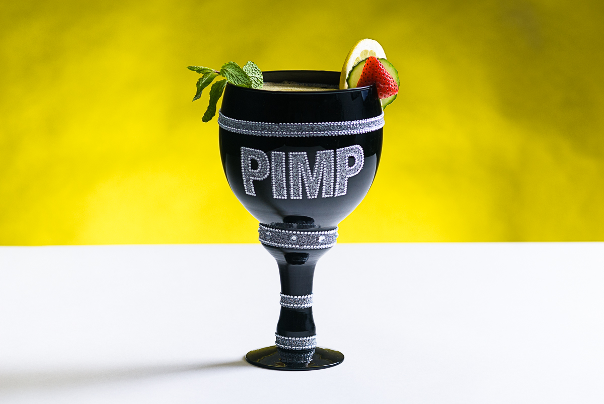 Pimm's Cup In a Pimp Cup