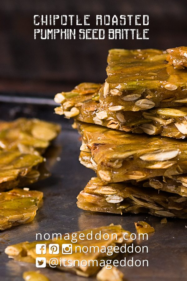 Chiptole Roasted Pumpkin Seed Brittle