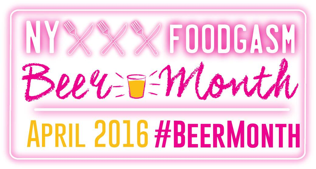 NYFoodgasm Beer Month 2016