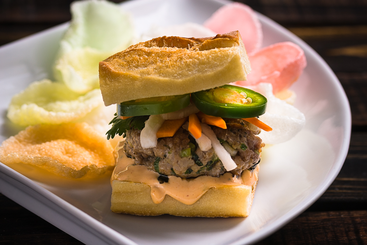 Pork Banh Mi Burger