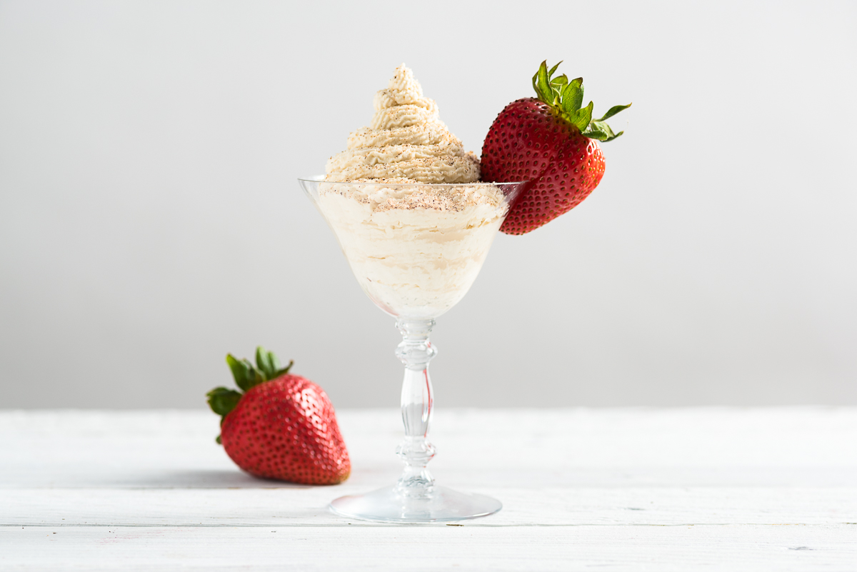 Brandy Alexander Strawberries And Cream