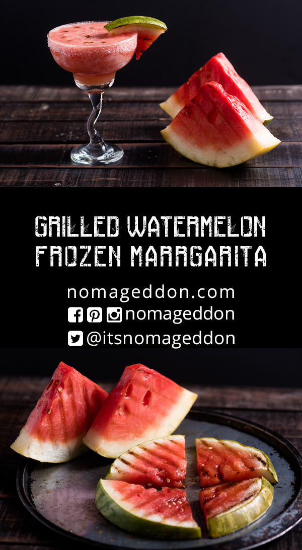 Grilled Watermelon Frozen Margaria