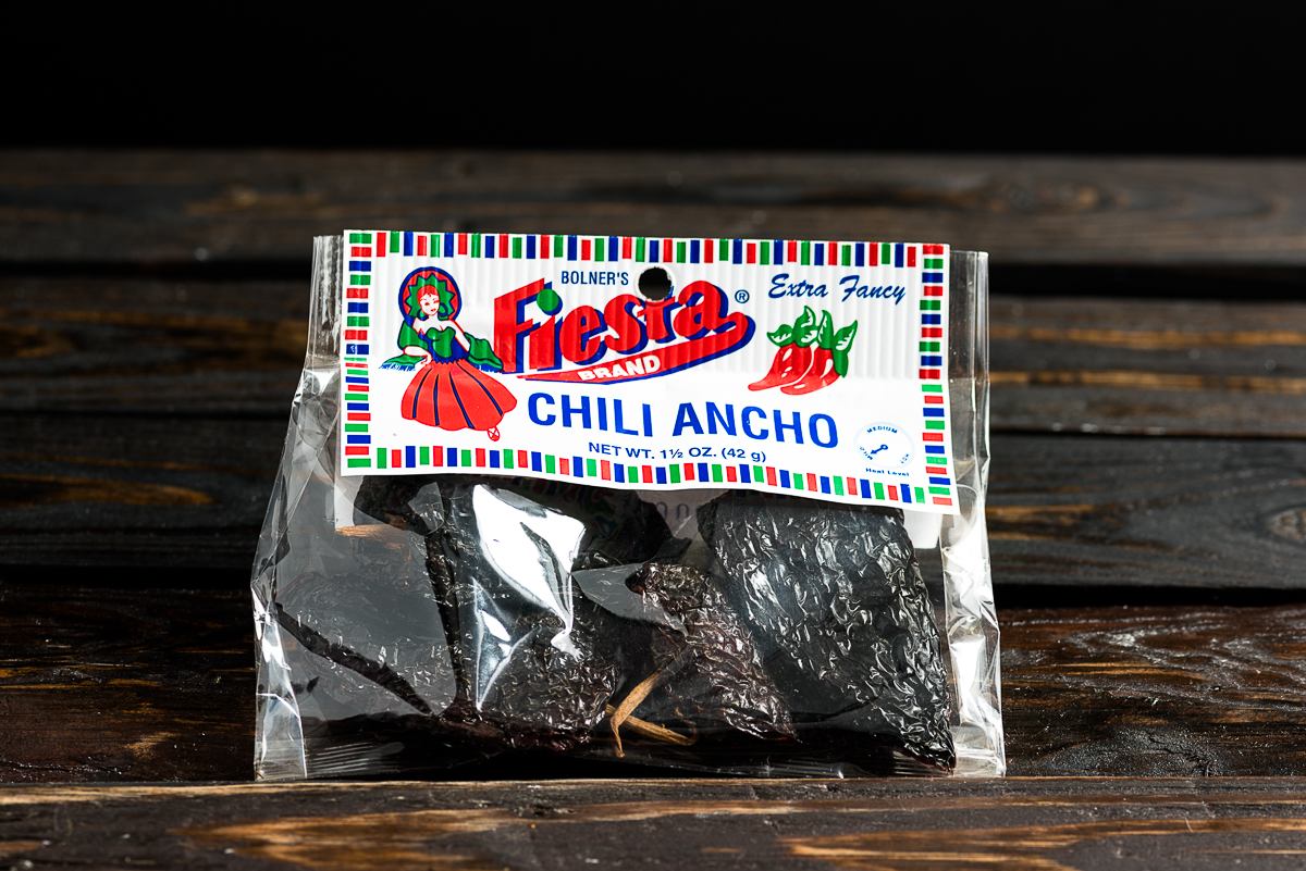 Dried Ancho Chilis