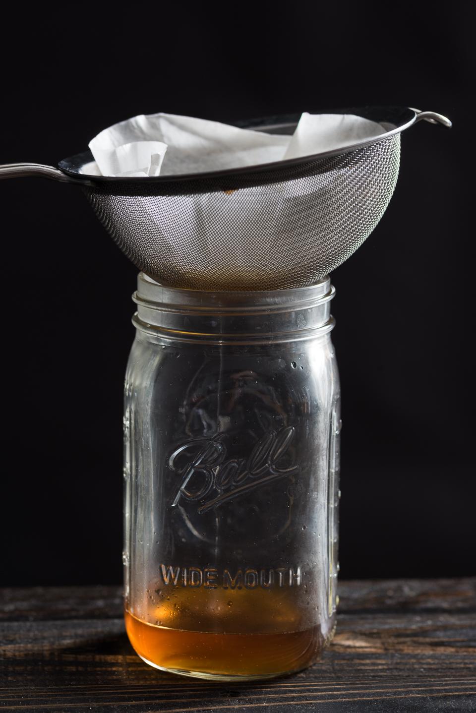 Bacon Whiskey Ball Jar