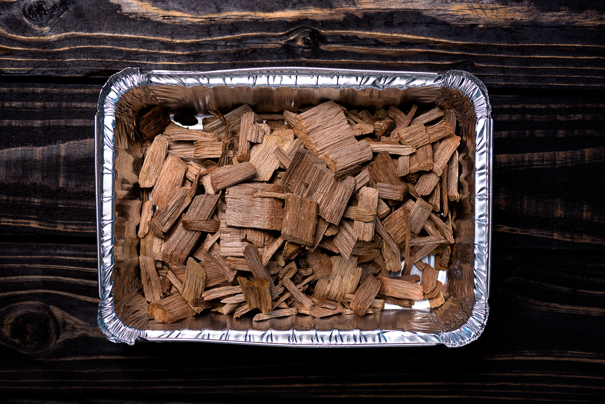 DIY Smoker Box Hickory Word Chips