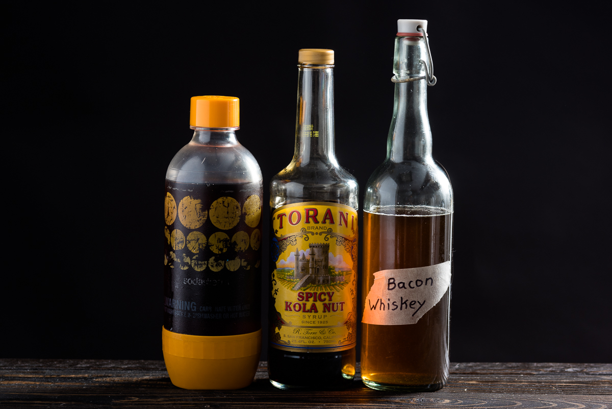 Torani Soda Stream Bacon Whiskey