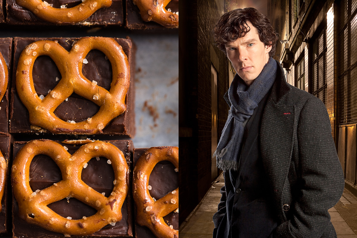 Fudge and Benedict Cumberbatch