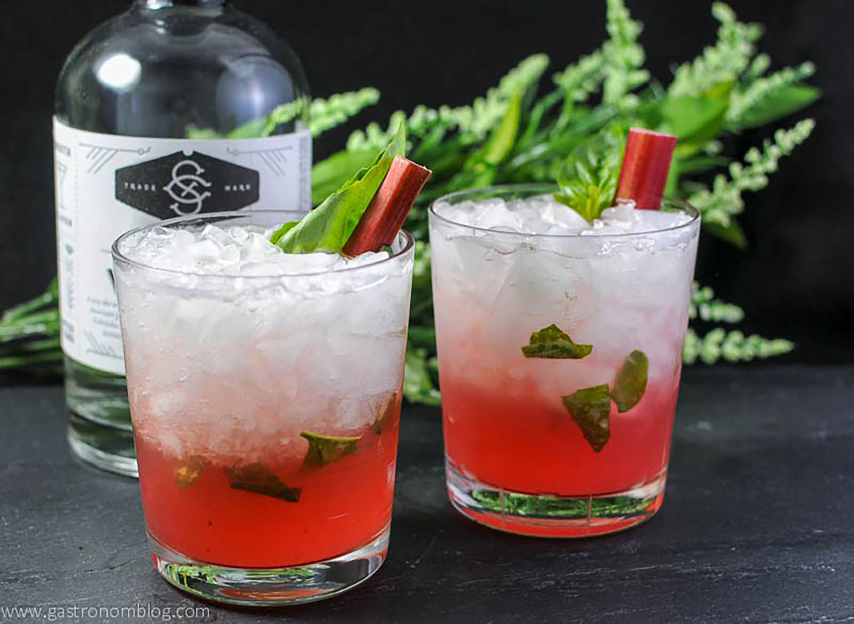 Gastronom The Rhubasil Cocktail