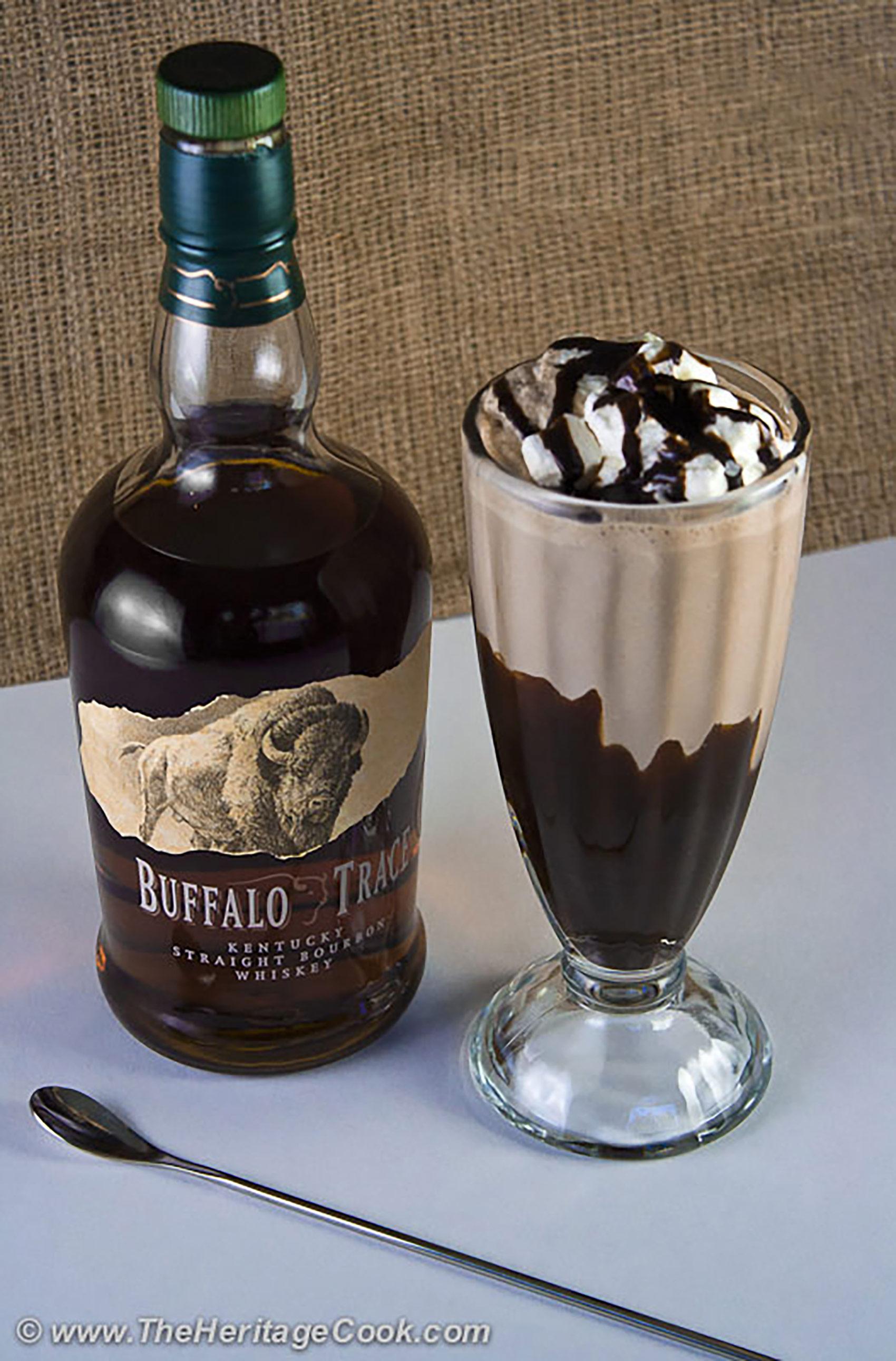 Heritage Cook Napa Chocolate Bourbon Milkshake