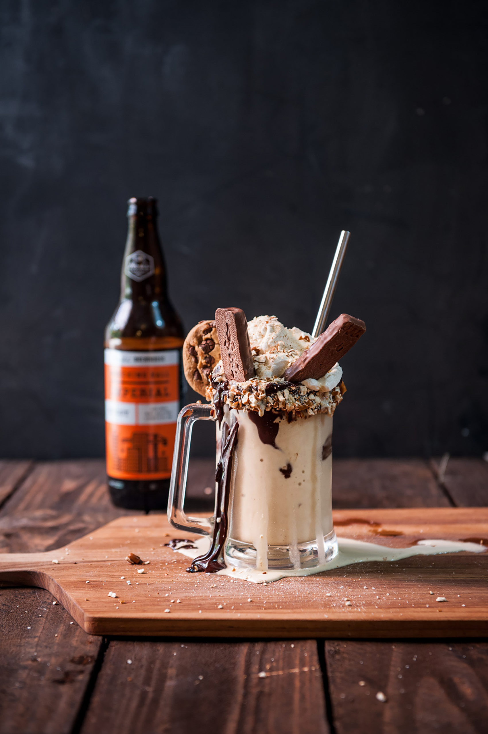 The Beeroness Chocolate Stout Freak Shake