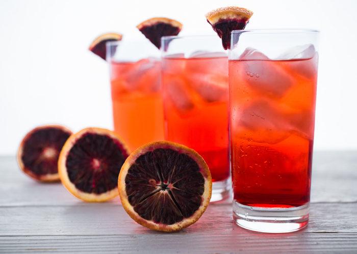 Blood Orange Shirley Temple