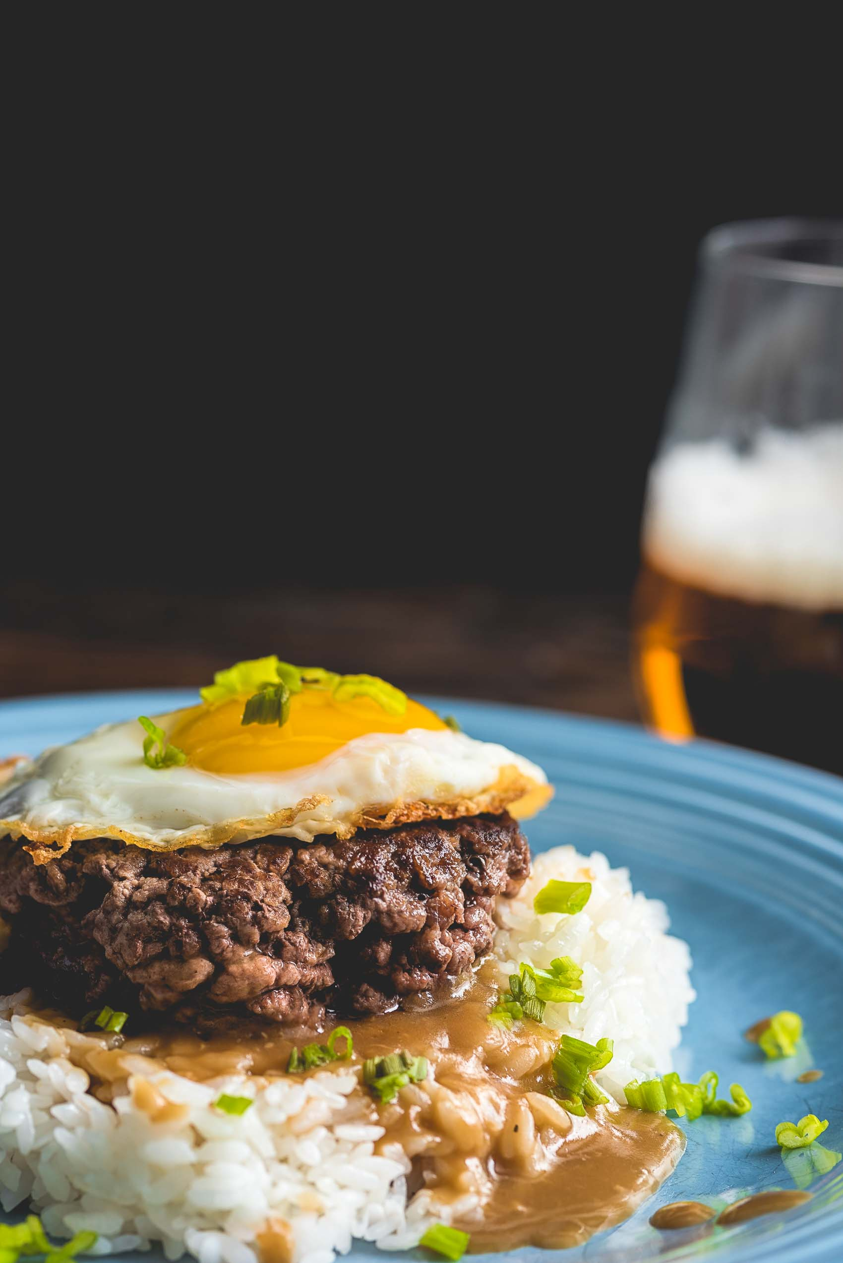 Loco Moco With Roasted Garlic Gravy Nomageddon