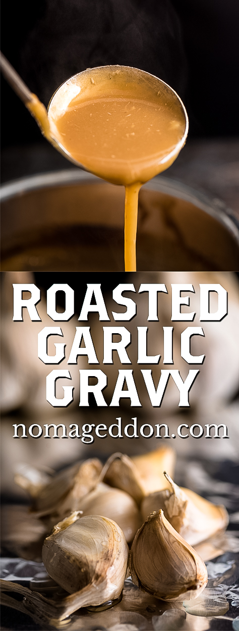 Roasted Garlic Gravy