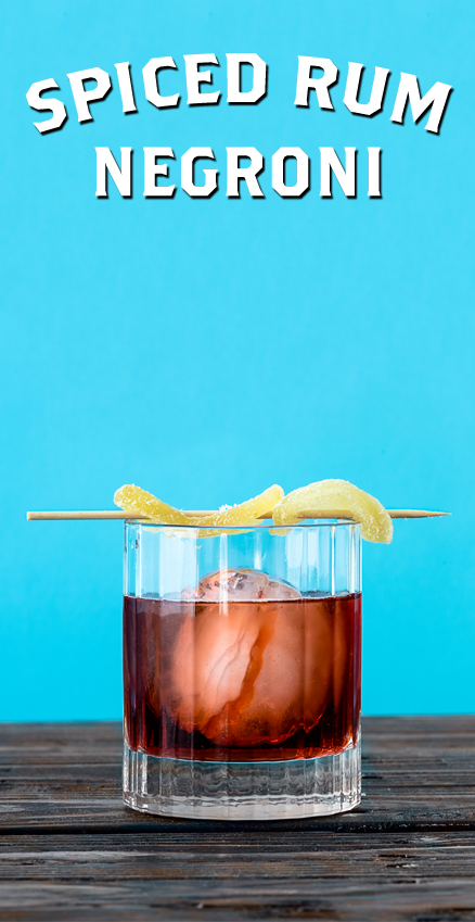 Spiced Rum Negroni
