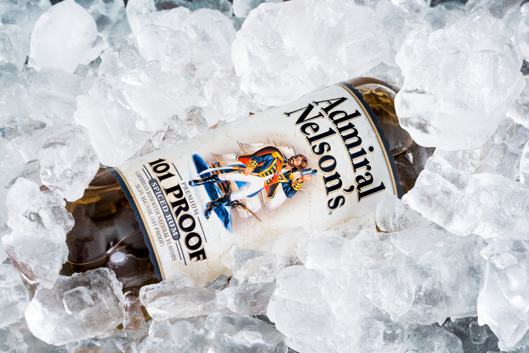 Admiral Nelson's 101 Proof Spiced Rum