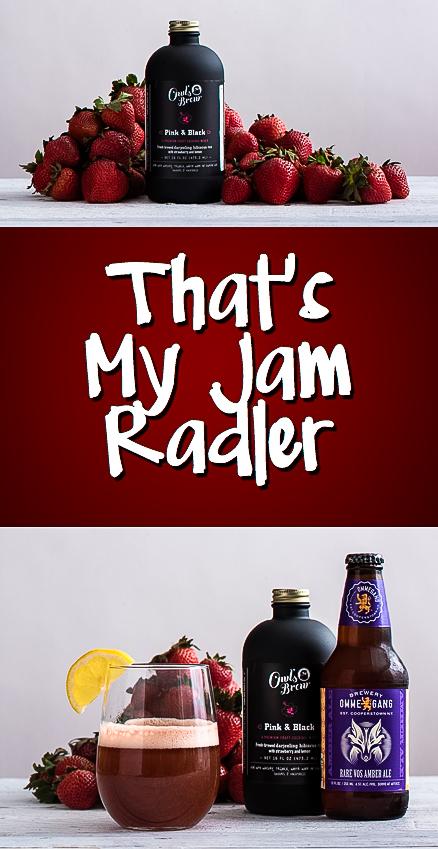 Owl's Brew That's My Jam Radler