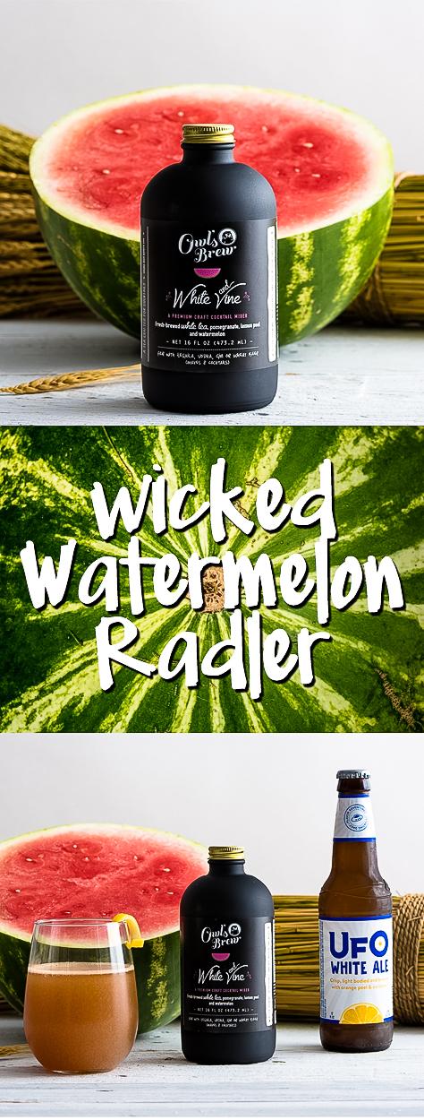 Owl's Brew Wicked Watermelon Radler