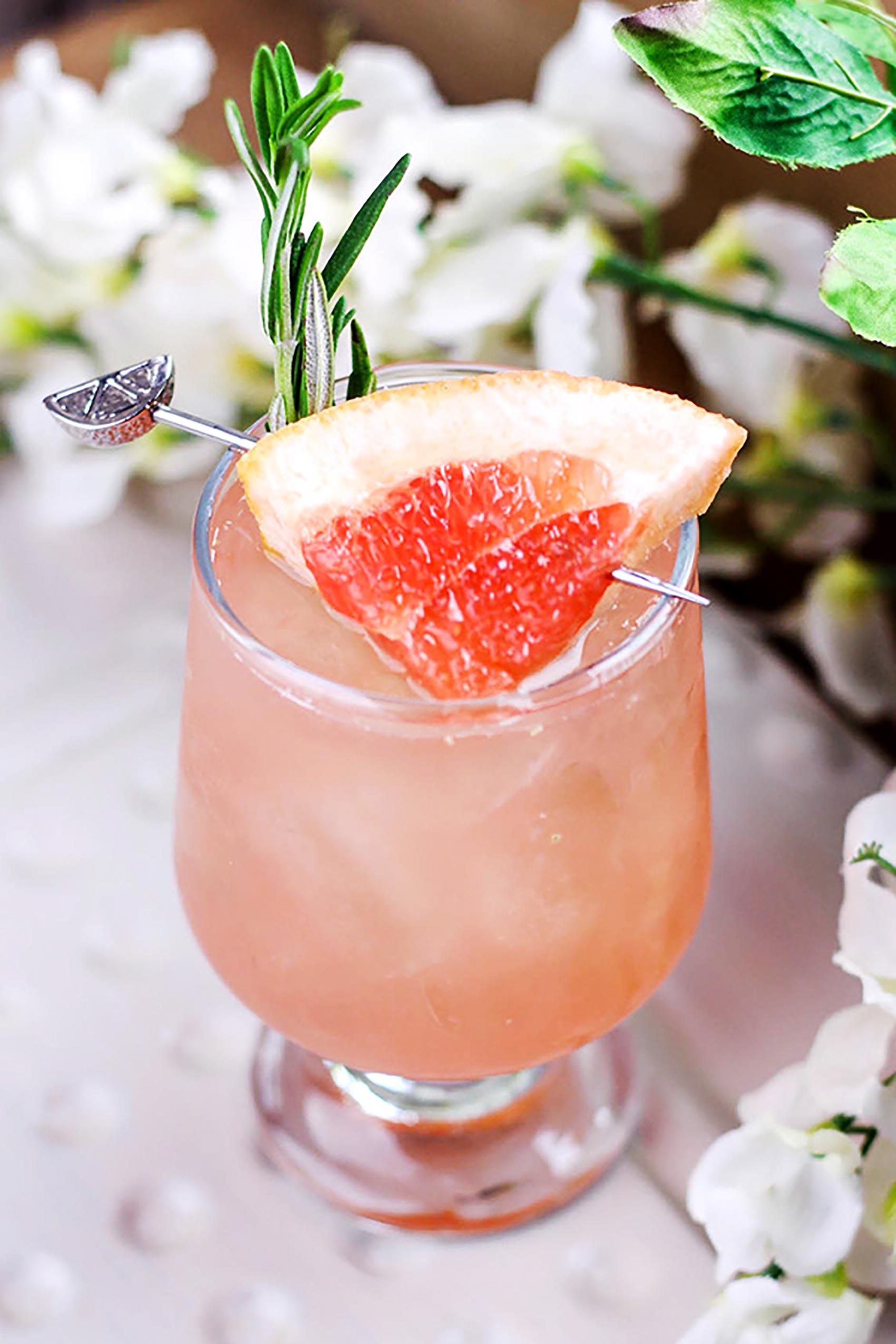Ruby Red Grapefruit & Jalapeno Cocktail Recipe