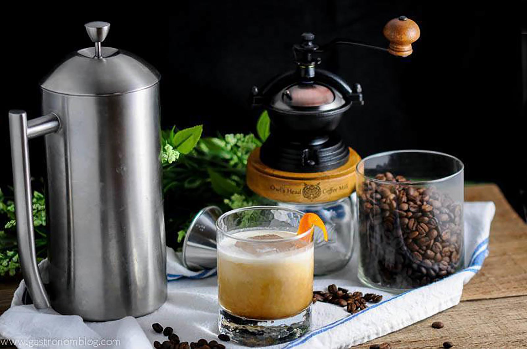 Cold Brew Bourbon Cocktail