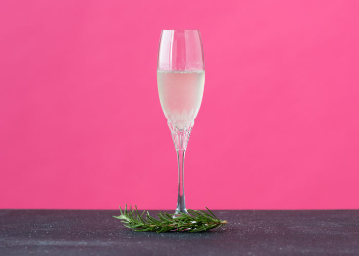 Rosemary French 75