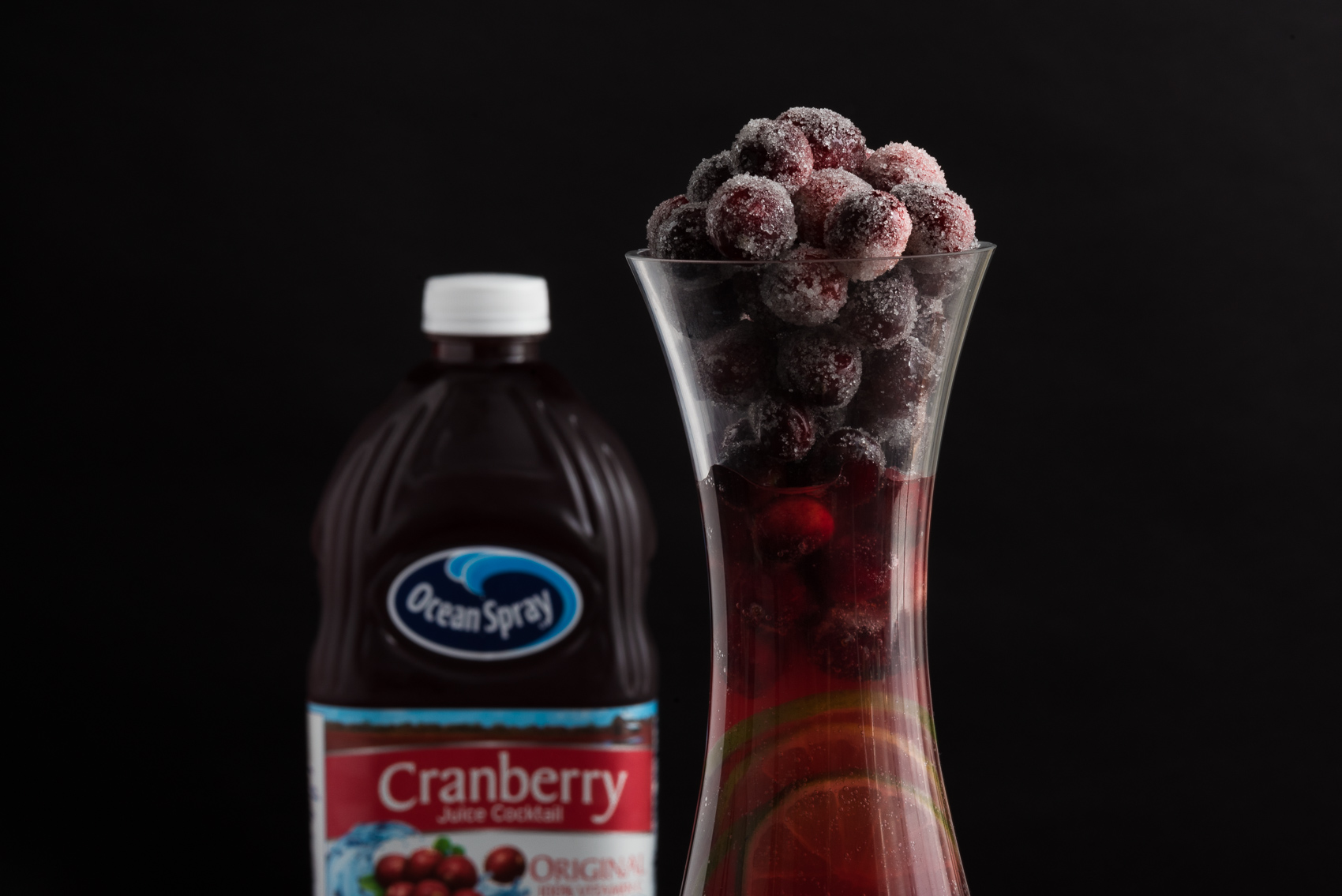 Cranberry Comfort Thanksgiving Cocktail
