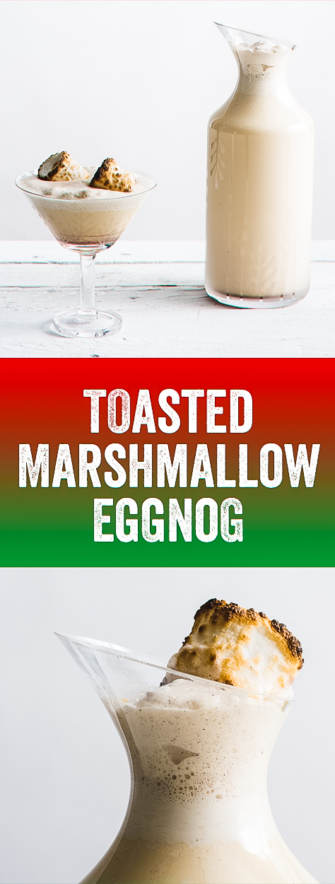 Eggnog, Christmas Cocktail, Best Eggnog, Toasted Marshmallows, Christmas Party