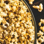 Eat Healthy Like A Man Stovetop Parmesan-Ranch Popcorn