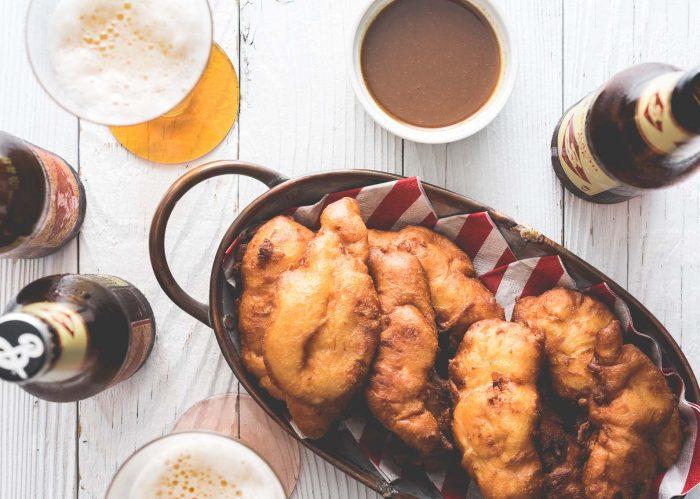 Chicken and Waffles Chicken Fingers