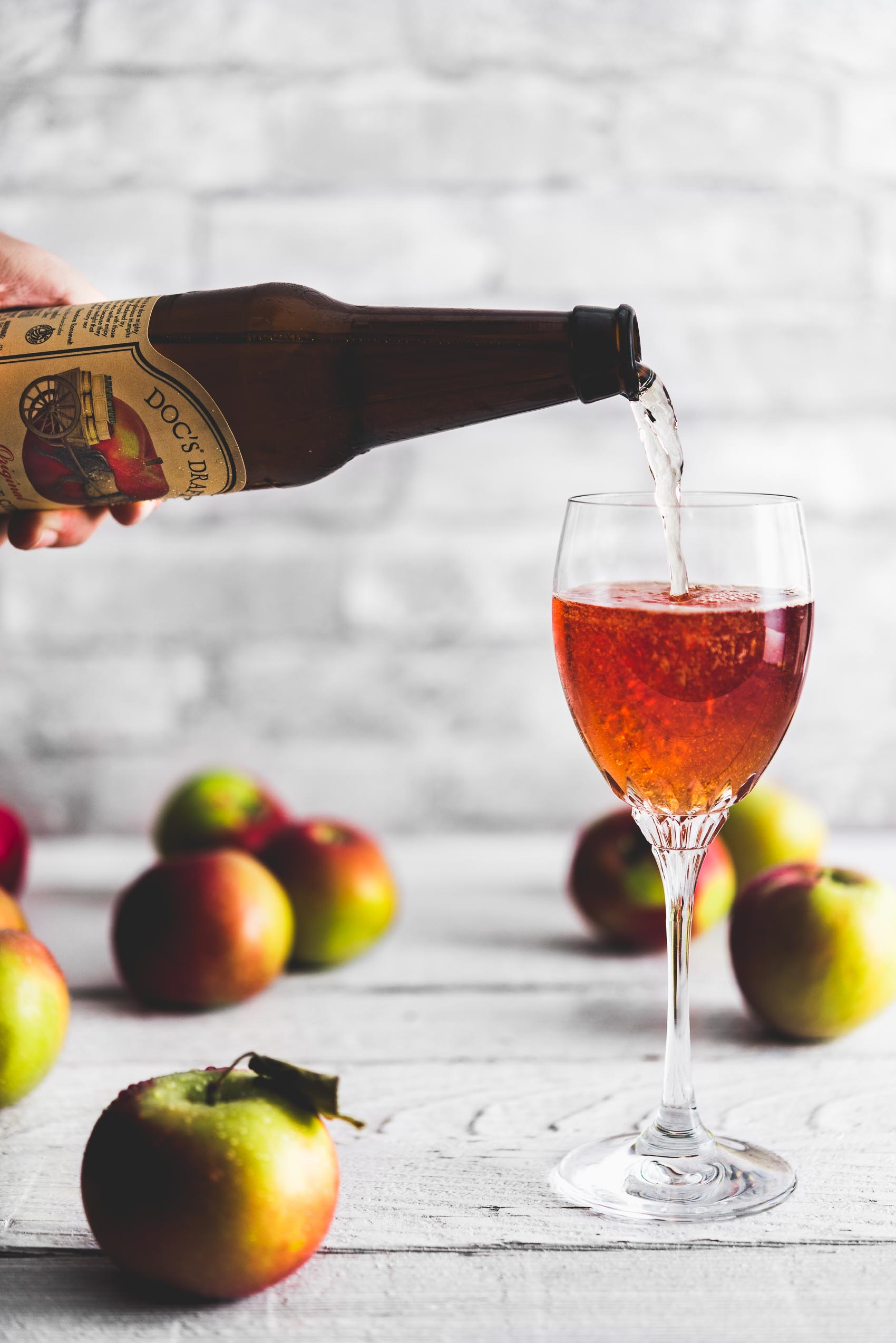 Hard Apple Cider Kir Normand