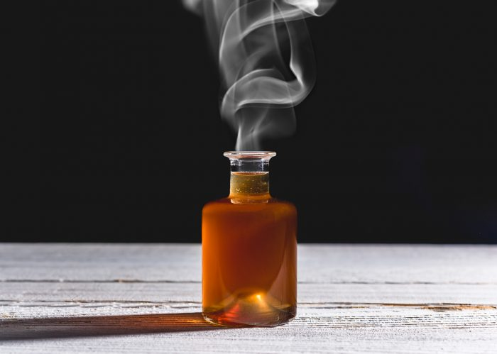 DIY Smoked Simple Syrup