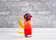 Cranberry Tom Collins Gin Cocktail