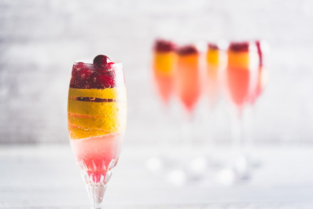 Cranberry Cocktail Cranberry French 75