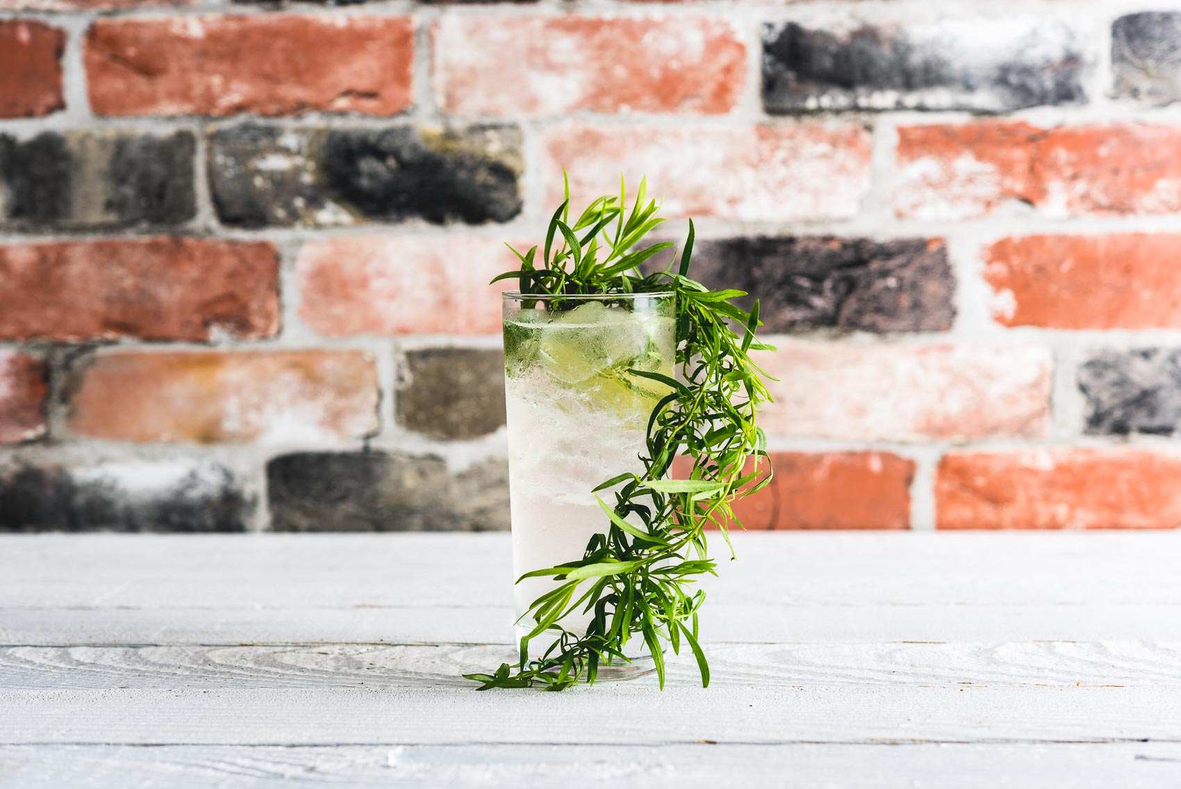 Herbal Gin and Tonic With Tarragon