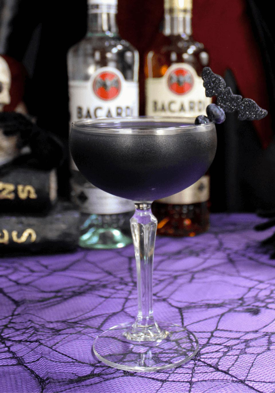 Spooky Halloween Cocktails Black As Your Soul
