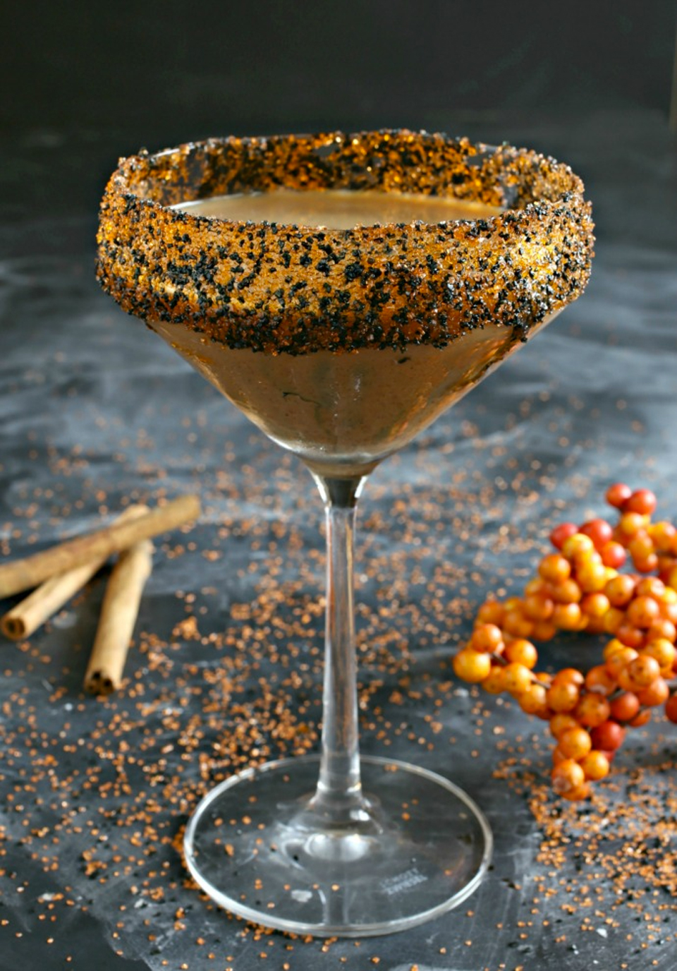 Spooky Halloween Cocktails 2018 Wicked Chocolate Pumpkin Smash Cocktail